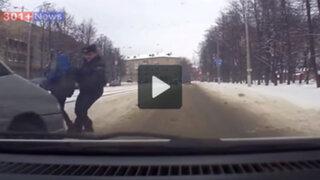 Bielorrusia: esta fue la heroica acción de un policía para salvar la vida de un niño