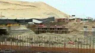 Aún no terminan obras de puente Topará colapsado hace más de ocho meses