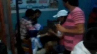 Trujillo: padres beben licor frente a su menor hijo
