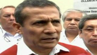 Amazonas: Ollanta Humala niega rumores sobre fuga del país