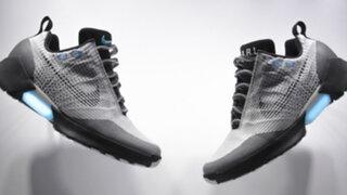 VIDEO: las zapatillas que se atan solas ya son una realidad