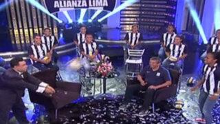 Porque Hoy es Sábado recibe la visita del equipo de vóley de Alianza Lima