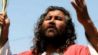 """Mario Valencia: El vía crucis del queridísimo """"Cristo Cholo"""""""