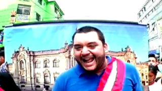 Desde Palacio: presidente por un día con el genial Kike Suero