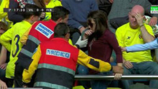 YouTube: ¡Ouch! Messi 'soñó' a una hincha con este cañonazo