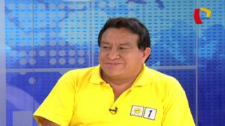 """José Luna: """"Ante el público no podía negar apoyo"""""""