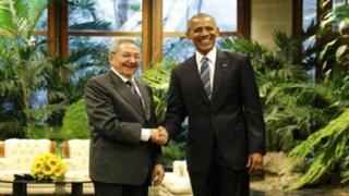 Histórico: Barack Obama y Raúl Castro se reúnen en La Habana