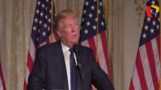 Donald Trump critica que Castro no haya recibido a Obama