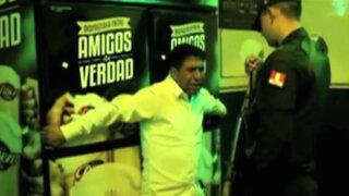 Huaraz: propietario de bar llora para evitar que clausuren su local