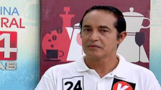 Alex Gonzales reafirma su propuesta de usar helicópteros para combatir la delincuencia