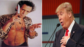 ¿Keith Richards amenazó con un cuchillo a Donald Trump?