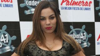 Aída Martínez desmiente romance con modelo tras ampay