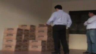 Áncash: hallan productos de 'Vaso de leche' en lugar indebido