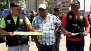 Intervienen a más de 30 vendedores con entradas falsas para el Perú-Venezuela