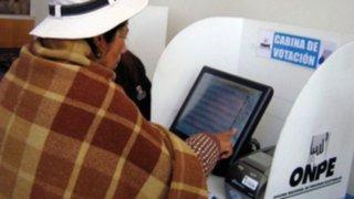 ONPE lanza aplicación para practicar el voto electrónico en celulares