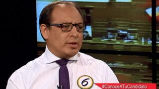 Gustavo Gutiérrez: ¿en qué consiste el shock constitucional que propone?