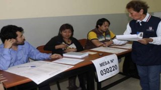 """Lunes 11 de abril fue declarado """"día no laborable"""" para miembros de mesa"""