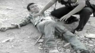 SJM: hombre sufre amputación de pie tras pisar explosivo
