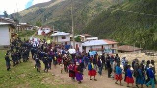 Áncash: fieles celebran Semana Santa con diversas actividades en Huari