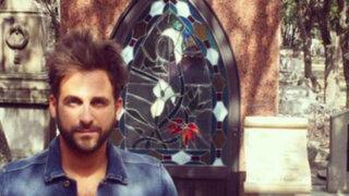 'Peluchín' visitó la tumba de Chespirito y se llevó una gran sorpresa