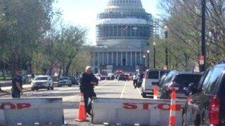 Tiroteo cerca del Capitolio de Estados Unidos deja dos heridos