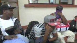Iquitos: detienen a 27 extranjeros que intentaron ingresar al país de manera ilegal