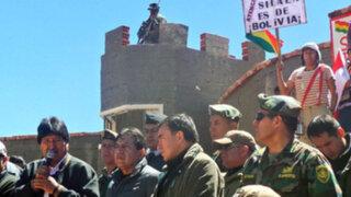 Bolivia: Evo Morales aviva controversia con Chile por aguas del Silala
