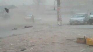 Nepal: tormenta de arena provoca grandes estragos