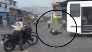 Venezuela: agentes mueren atropellados en protesta