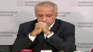 Elecciones 2016: 'Nano' Guerra García anunció el retiro de su candidatura