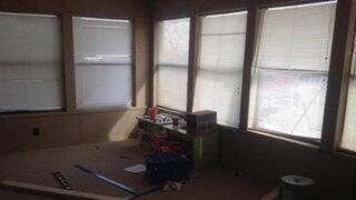 FOTOS: quería aprovechar una habitación vacía y lo que construyó fue impresionante