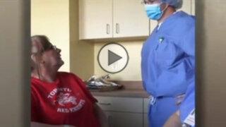 VIDEO: soldado se reencuentra con su madre de una forma muy peculiar