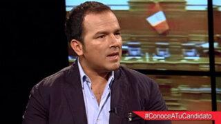 Marco Urteaga plantea que jóvenes de 18 a 24 años participen en política