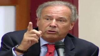 Alfredo Barnechea explicó sus propuestas para luchar contra la inseguridad ciudadana
