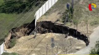 EEUU: enorme socavón aparece en suelo de Florida
