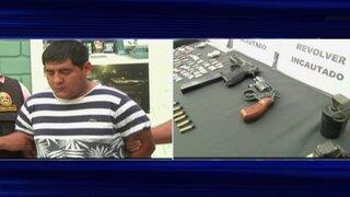 Capturan a traficantes de terrenos e incautan armas en operativo policial
