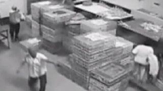 Pucallpa: delincuentes asaltan avícola y amenazan a clientes