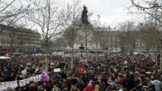 Francia: se registran multitudinarias protestas contra la reforma laboral