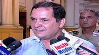 Luis Iberico pide llevar proceso electoral de la mejor manera