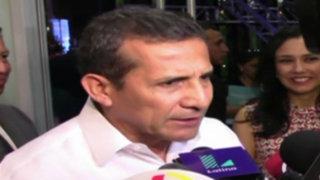 """Ollanta Humala: """"Aumento de sueldo mínimo no es irresponsable"""""""