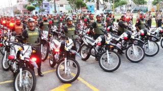 Callao: entregan motos con tecnología de punta para combatir delincuencia