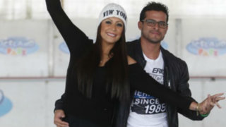 Karla Tarazona alumbró a su hijo con Christian Domínguez