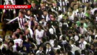 Bloque Deportivo: el clásico Alianza - Universitario fue suspendido por bombarda