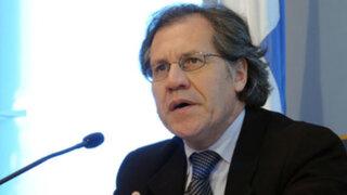 Secretario General de la OEA se reunió con el presidente Vizcarra