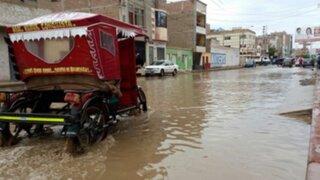 Chiclayo soportó diez horas de intensa lluvia