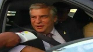 Debate Presidencial: Fernando Olivera y Miguel Hilario sufrieron percances durante su llegada