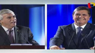 Debate presidencial: Fernando Olivera arremete ferozmente contra Alan García