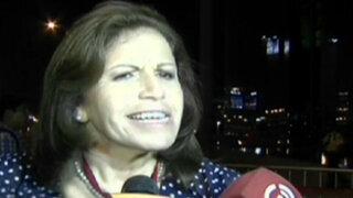 Lourdes Flores arremetió contra Fernando Olivera y lo tildó de inmaduro