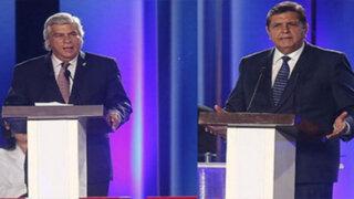 VIDEO: lo que dejó el 'candente' debate entre Alan García y Fernando Olivera