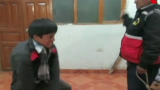 Cajamarca: lo castigan por fingir robo de mototaxi